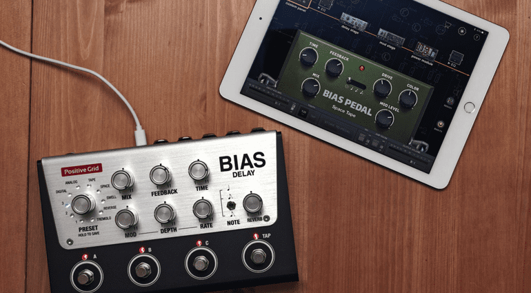 Positive Grid BIAS Delay Apple iPad App