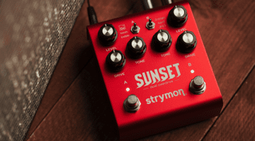 Stymon Sunset Dual Overdrive pedal