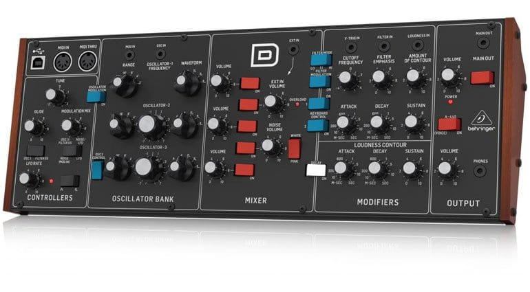 Behringer D Synthesizer