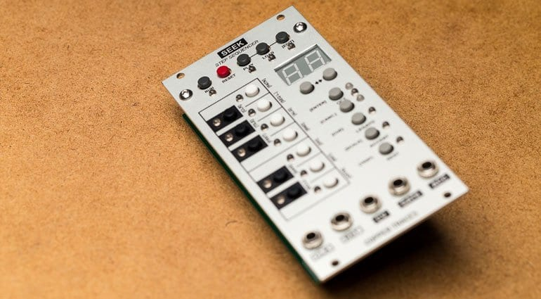 Copper Traces Seek step sequencer