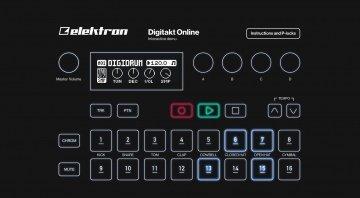 Elektron Digitakt online interactive demo
