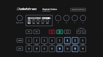 Elektron Digitakt online interactive demo
