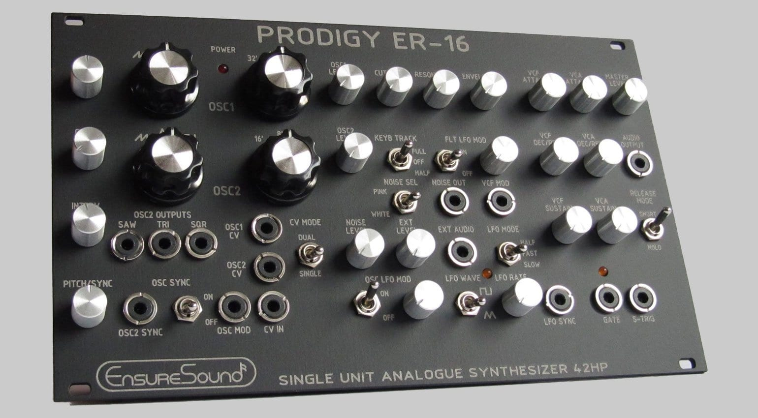 Moog Prodigy clone: the Prodigy ER-16 for Eurorack released via