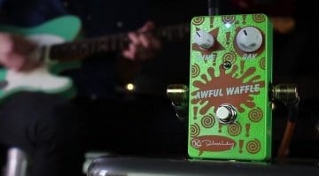 Keeley Awful Waffle Treble Booster pedal