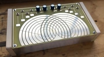 Landscape Stereo Field touch-plate instrument