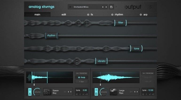 Output Analog Strings