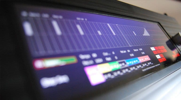 Percussa Synthor System 8 display