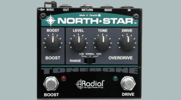Radial Tonebone North-Star Overdrive Power Booster pedal