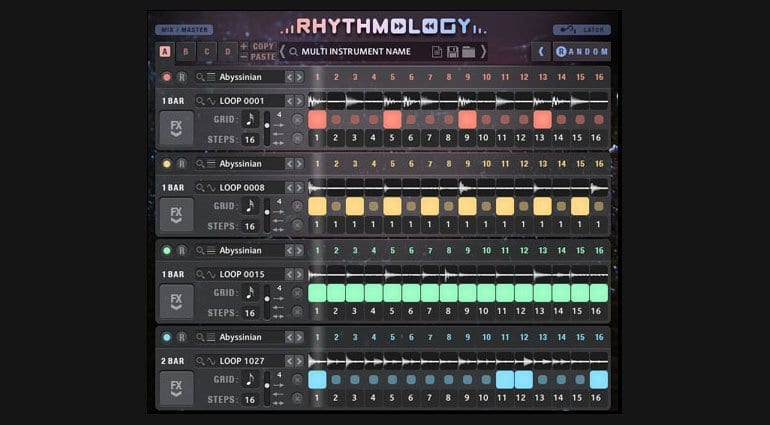 Sample Logic Rhythmology main page