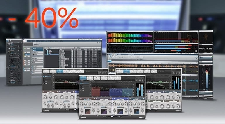 Steinberg WaveLab 9 40% offer