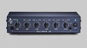 Trickfish Amplification Bullhead.5K bass amp head