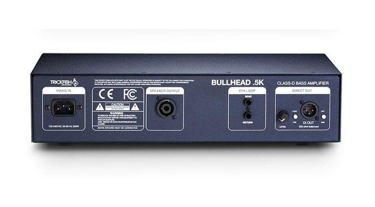 Trickfish Amplification Bullhead.5K bass amp head