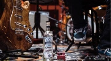 Cuervo Fender Stratocaster Tequila