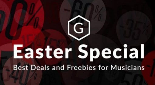 Save on Easter Special Deals on Plug-ins and Instruments