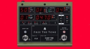 Free The Tone Flight Time FT-2Y delay pedal