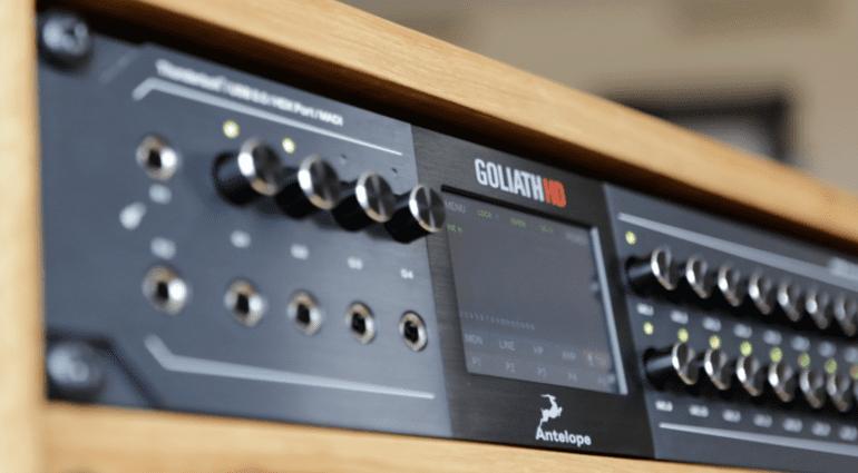 Antelope Audio Goliath HD interface