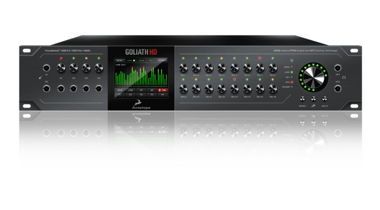 Antelope Audio's Goliath HD interface