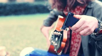 Roadie 2 tuner Kickstarter guitar