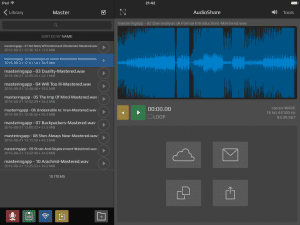AudioShare for iPad