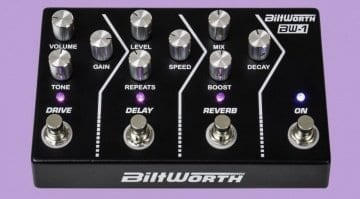 Biltworth BW-1 analogue multi-effect pedal