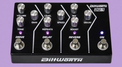 Biltworth BW-1 analogue multi-effect pedal