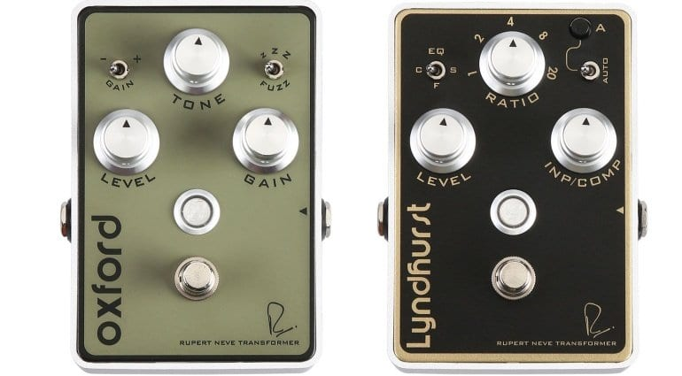 Bogner Oxford Fuzz and Lyndhurst Compressor pedals