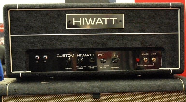 HiWatt Custom 50 prototype head