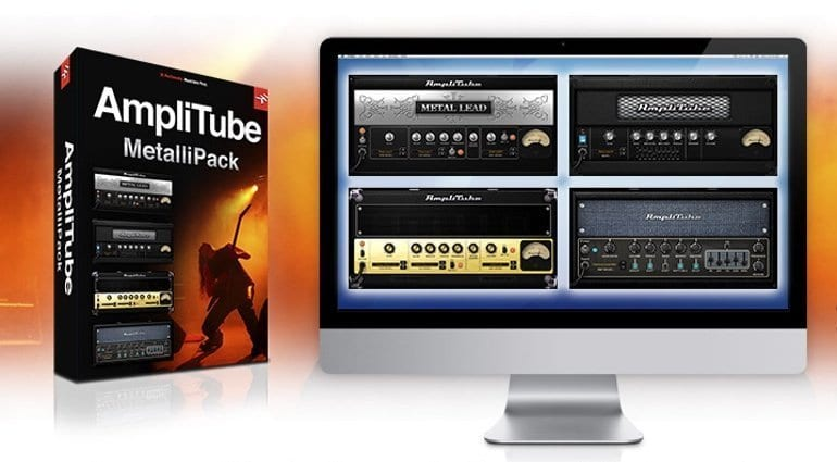 IK Multimedia MetaliPack for AmpliTube