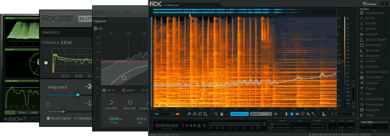 iZotope RX 5 Post Production Suite