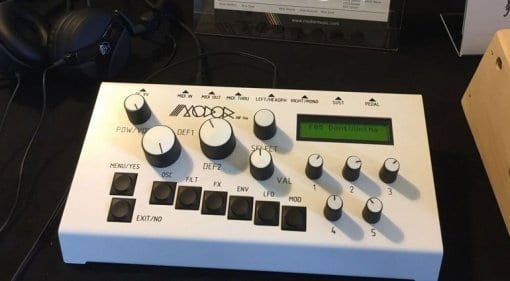 Modor NF-1m synthesizer