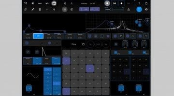 Modstep midi sequencer for iPad - user interface