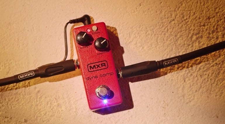 MXR Dyna Comp Mini compression pedal
