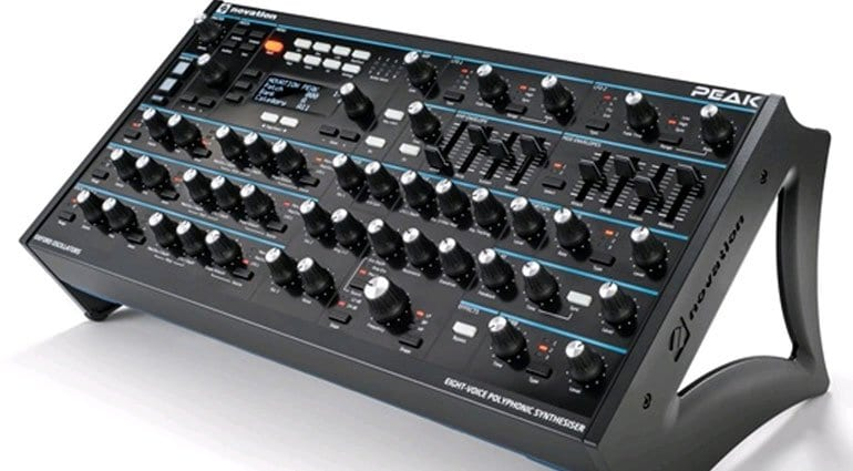 Novation Peak 8 Voice Polyphonic Synthesizer