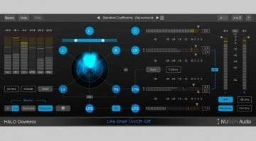 Nugen Audio Halo Downmix user interface