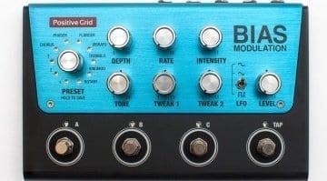 Positive Grid BIAS Modulation pedal