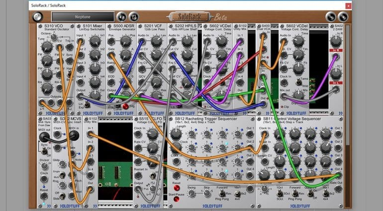 SoloRack virtual Eurorack