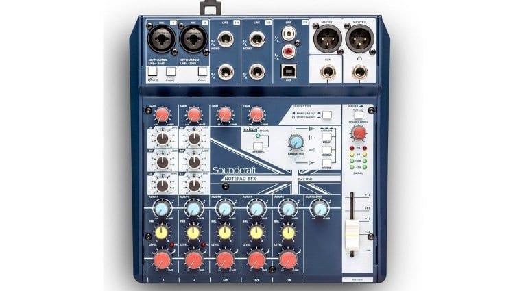 Soundcraft Notepad-8FX mixer/USB interface