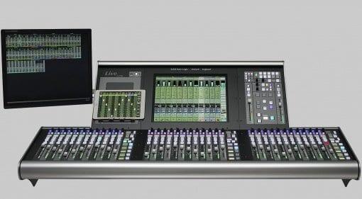 SSL L200 live mixing console
