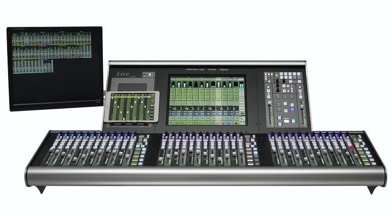 SSL L200 live console - front