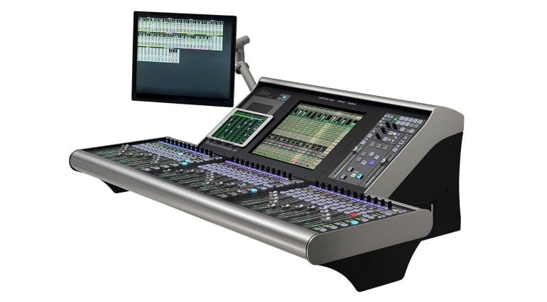 SSL L200 live console - side view