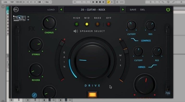 StudioLinked Studio Rack Multi Effects Plug-in