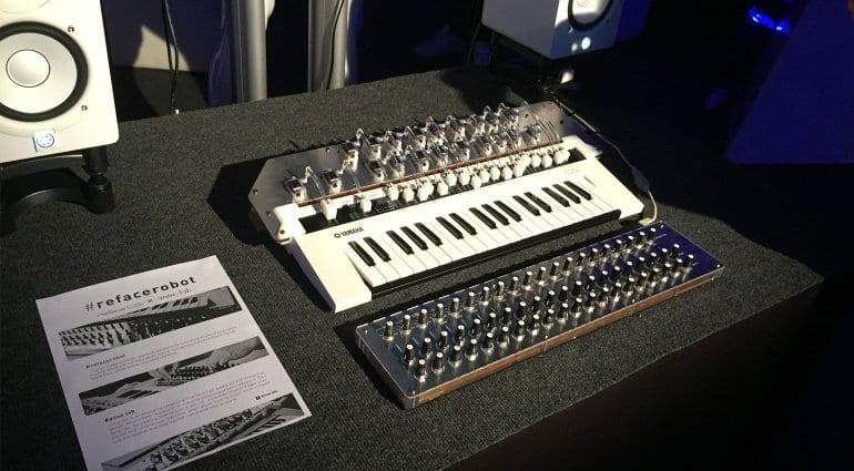Yamaha refacerobot