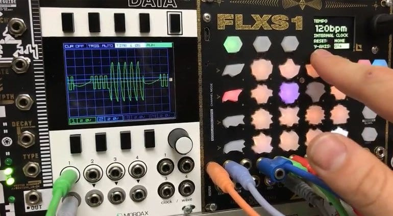 Zetaohm FLXS1 4 Channel 64 Step Sequencer