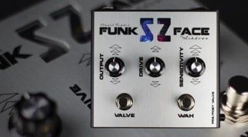 Ashdown Stuart Zender signature SZ Funk Face autowah bass pedal