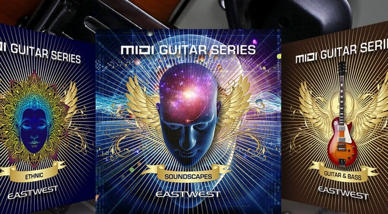EastWest MIDI Guitar Series collaboration with Fishman TriplePlay
