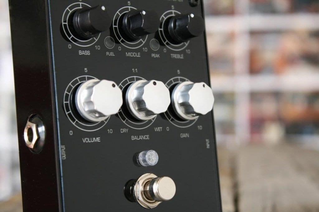 Guru Amps SexyDrive II controls