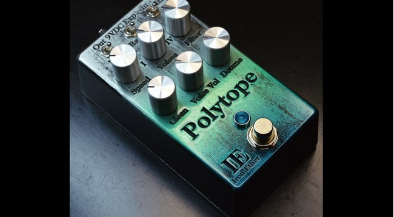 Iron Ether Polytope bass pedal Quad-Voice Detuner