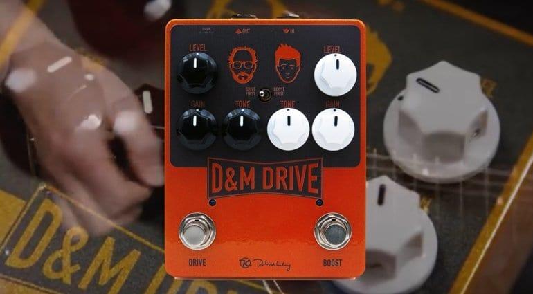 Keeley D&M Drive pedal. That Pedal Show