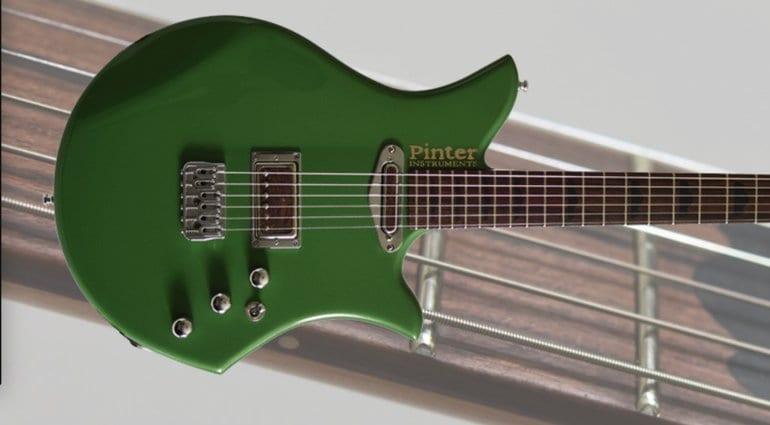 Pinter Instruments Guitars SB1-J Whitby Green