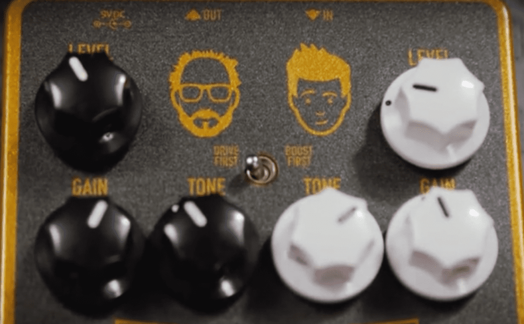 Keeley D&M Drive controls